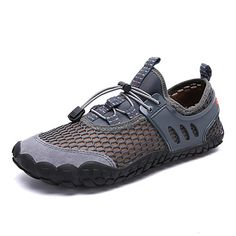 best website 0a1d2 d90dd Men s Comfort Shoes Mesh Spring Sporty Athletic Shoes Water Shoes Dark Blue    Gray   Yellow