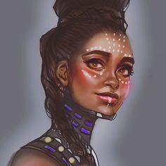 "110 Likes, 11 Comments -  ""Kniio""  (@kniiothedreamer) on Instagram: ""Jk have a messy color before bed. Love y'all. #lastoneiswear #shuri #blackpanther"""