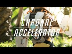 Tracer Cosplay Tutorial - Chronal Accelerator (chest piece) & Harness - YouTube