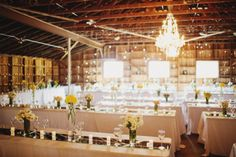 Gray and Yellow Wedding http://www.loveandlavender.com/2013/07/real-wedding-gray-and-yellow-wedding/