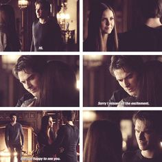 damon comes back to elena