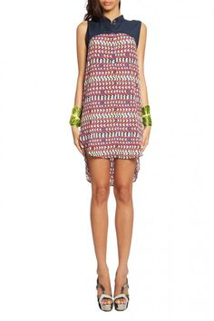 maraHoffman | Combo Shirt Dress