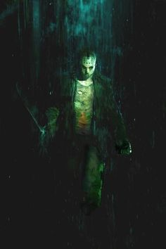 Friday the 13th concept art by Christopher Shy #comics #art