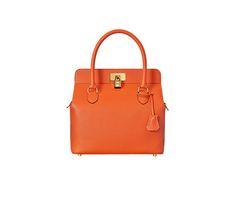 Evelyne III Hermes shoulder bag in gold taurillon clemence leather ...