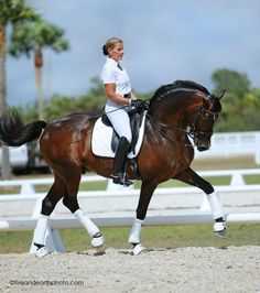 "Dressage is occasionally referred to as ""Horse Ballet"" and to prove it, this is a picture of a canter pirouette."