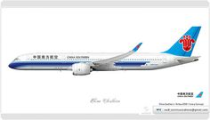 China Southern / Livery concept | Flickr - Photo Sharing!