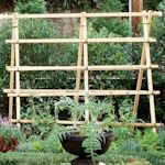 make trellises for both vegetable gardens and flower beds, many are simple in design (and to make) while others are more detailed and fancy (with a bit of woodworking skill required).