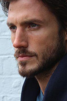 Beautiful Men Faces, Gorgeous Men, Facial Hair Growth, Beard Styles For Men, Beard Tattoo, Face Forward, Portrait Poses, Male Face, Good Looking Men