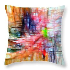 Throw Pillow - Abstract 9586