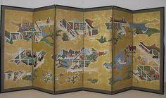 38. Scenes from the Tale of Genji - Edo period (17th century)