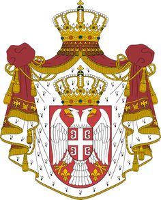 The Serbian Flag