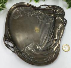 Cheap Sale Art Nouveau Wmf Silver Plated Nail Polisher. Art Nouveau Antiques