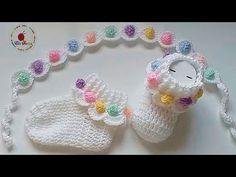 Knit Baby Booties, Booties Crochet, Crochet Baby Clothes, Crochet Baby Shoes, Newborn Crochet, Crochet Lion, Crochet Socks, Crochet Blanket Patterns, Baby Knitting Patterns