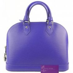 LVAlma Pm Purple Color Epi Leather Very Good Condition Ref.code-(BVULL-3) More Information Pls Email  (- luxuryvintagekl@ gmail.com