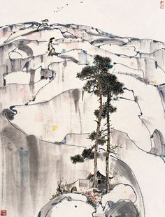 Wu Guanzhong(吴 冠中 Chinese, 1919-2010)