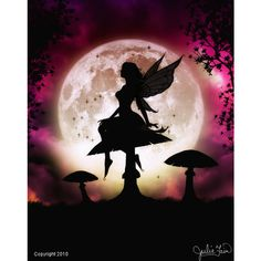Fairy Art, Silhouette Art, Mermaid Art, Dragon Art, Goddess Art, Unicorn Art by Julie Fain