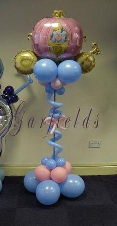 Princess Balloon Column by kendra