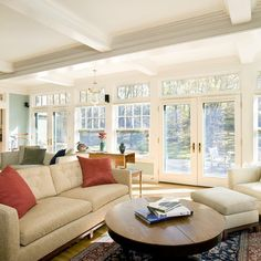 transom windows to ceiling