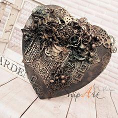 Snip Art - Pracownia Artystyczna: Czarne serce /Black heart