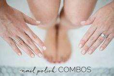 8 Manicure and Pedicure Color Combinations.