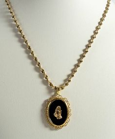 Avon Gold Tone Endless Heart Chain Necklace Never Ending