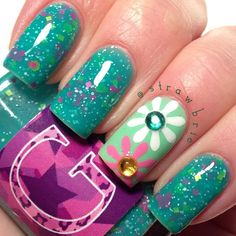 .@Hannah Barber | OH....MY....GOD! This awesome crelly by @glampolish_ is named after one of my...