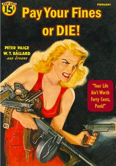 "Pay Your Fines or DIE! ""Your Life Ain't Worth Forty Cents, Punk!"" Librarian Literature"