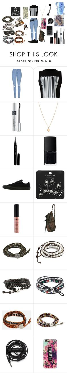 """MGC"" by runner0908 on Polyvore featuring Glamorous, Alexander Wang, Christian Dior, Laura Lee, Marc Jacobs, NARS Cosmetics, Converse, Topshop, NYX and NOVICA"