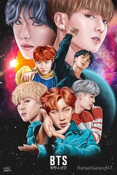 BTS DNA Fan Art