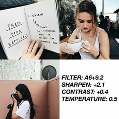 Find images and videos about filter and vsco filter on We Heart It - the app to get lost in what you love. Photography Filters, Vsco Photography, Photography Editing, Vsco Feed, Vsco Gratis, Fotografia Vsco, Paintings Tumblr, Vsco Themes, Photo Editing Vsco