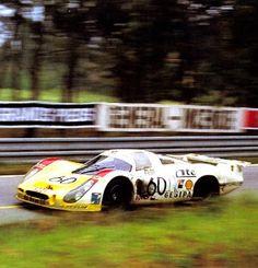 1972 La Porsche 908LH de Joest / Weber / Casoni
