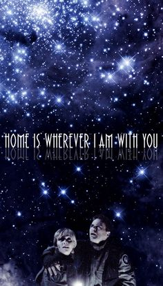 """""""Home Is Wherever I Am With You."""" #stargate #samjack #sg1"""