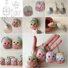How to DIY Adorable Felted Owl   iCreativeIdeas.com Follow Us on Facebook --> https://www.facebook.com/icreativeideas
