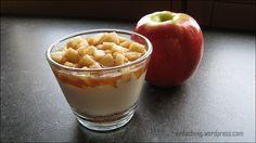 Apfel-Joghurt Dessert im Glas - Leckere Desserts