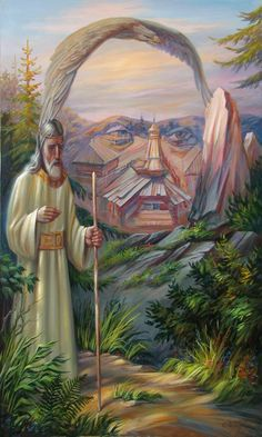Illusion d'optique et perception en peinture - Oleg Shuplyak Optical Illusions Faces, Optical Illusion Paintings, Amazing Optical Illusions, Art Optical, Illusion Kunst, Illusion Art, Amazing Paintings, Amazing Art, Oil Paintings
