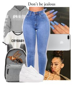 """""""i just like his hoodies."""" by xo-reese-xo ❤ liked on Polyvore featuring Gucci and NIKE"""