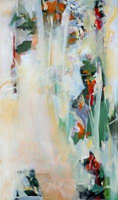 Abstract painting Mikrokosmos (microcosm), Ute Laum