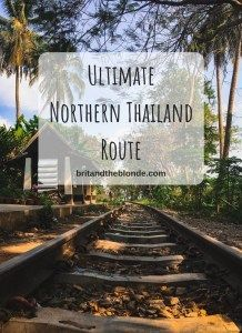 The Ultimate Northern Thailand Route - The Brit & The Blonde Thailand Adventure, Local Hotels, Adventures Abroad, International Travel Tips, Northern Thailand, Future Travel, Plan Your Trip, Asia Travel, Travel Around