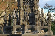 Krannerova fontána aka Pomník Františka I, Josef a Emanuel Max