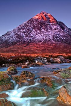 Glen Etive, Scotland.  Our tips for fun things to do in Scotland: http://www.europealacarte.co.uk/blog/2010/12/30/things-scotland/