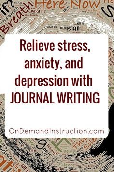 Relieve stress, anxiety and depression with journal writing or journaling. Bullet Journal Banners, Bullet Journal Page, Bullet Journals, Journal Prompts, Writing Prompts, Journal Ideas, Journal Inspiration, Writing Ideas, How To Journal