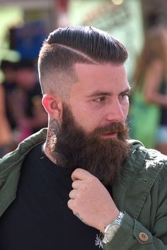 Beard of a god