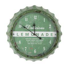 esfera en verde letrero lemonade