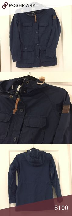 Penfield Navy Trailwear Parka In great condition, navy color. Size XS Penfield Jackets & Coats