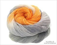 Wolle - Misty Morning (Merino Lace 700) - ein Designerstück von auenleben bei DaWanda