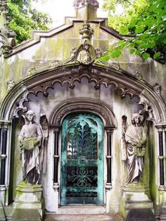 Brompton Cemetary statues  8 x 10 digital prints, London, England 2008 by SparkleandComfort, $9.99