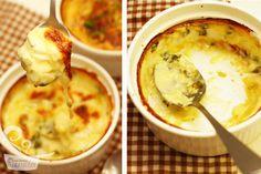 receita rápida e deliciosa de batata gratinada com um toque de alho