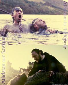 Athelstan saving Ragnar in Season One and Rollo in Season Two. Too bad he didn't really get any credit for either rescue.
