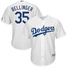 81f1f471c209 Cody Bellinger Youth Jersey - LA Dodgers Replica Kids Home Jersey  Officially Licensed by MLB made by Majestic Polyester Cool Base Button-Down  Jersey Team ...