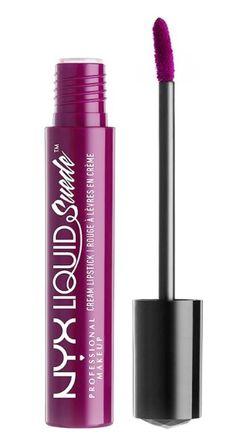 Liquid Suede Cream de la NYX Professional Makeup este un ruj lichid mat, rezistent, intr-o nuanta intensa si puternic pigmentata fiind necesar un singur strat pentru o culoare de lunga durata. Nyx, Rouge Makeup, Liquid Suede, Professional Makeup, Creme, Eyeliner, Catalog, Lipstick, Beauty